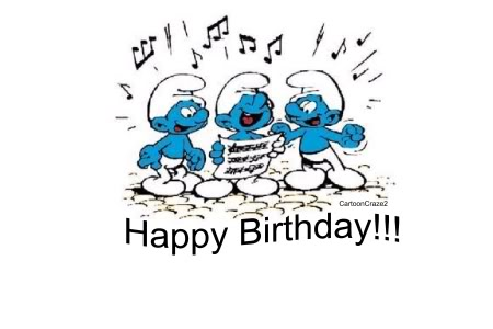 Happy Birthday to papa smurf - Cable Forum
